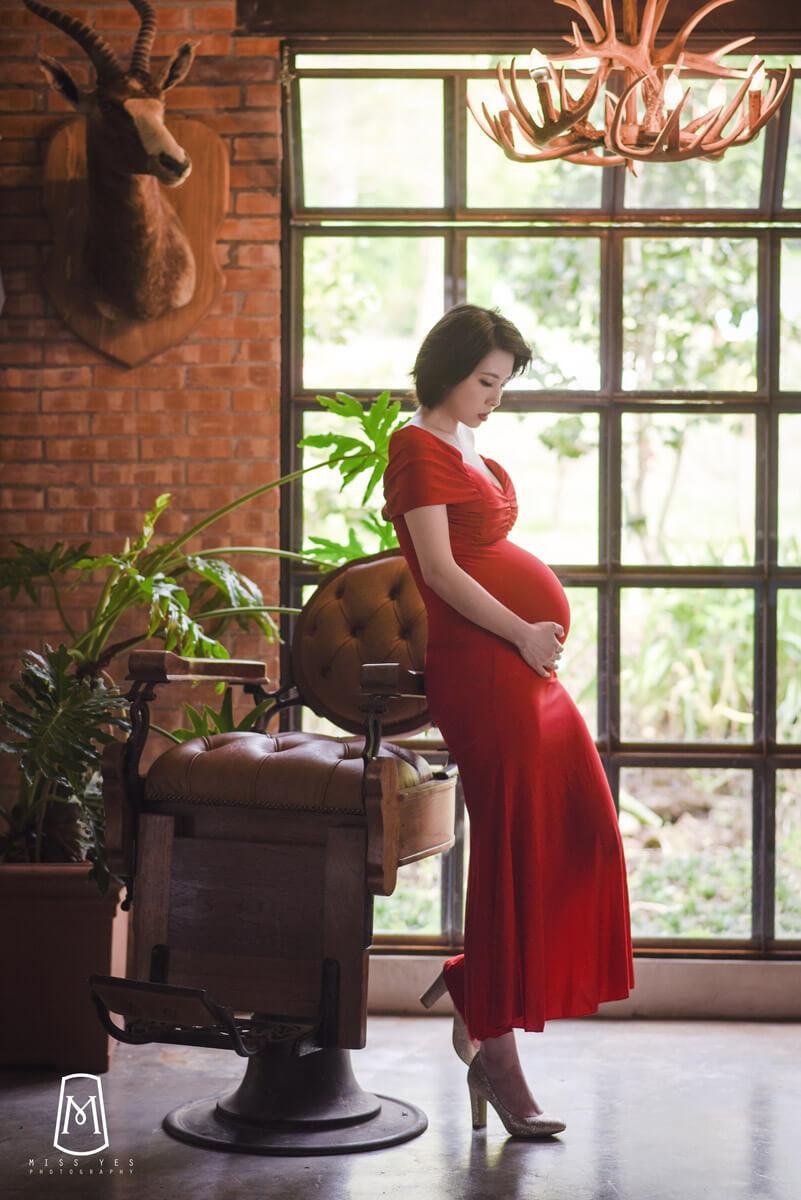 孕婦寫真,孕媽咪,大屯莊園,做月子